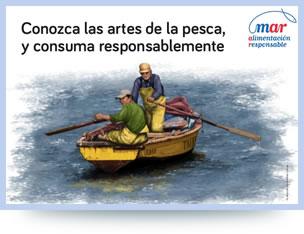 Conozca las artes de la pesca
