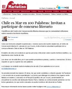 El Martutino Concurso Chile es Mar 04-09-2012